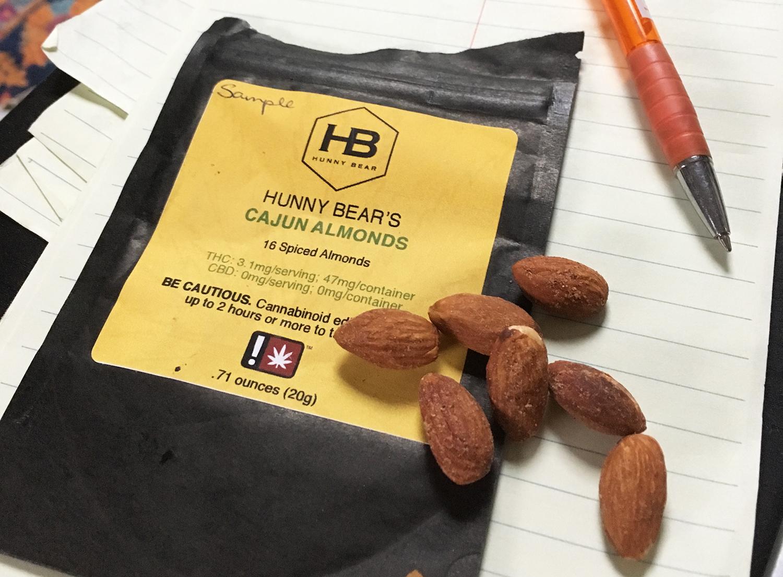 Hunny Bear Cajun Almonds