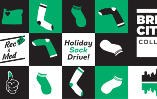 BCC Holiday Sock Drive PDX