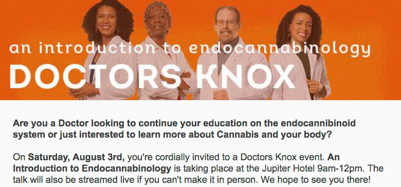 Doctors Knox Intro Class to Endocannabinology